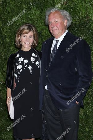 Anna Scott and Graydon Carter