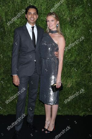 Stock Photo of Raj Roy and Sarah Arison