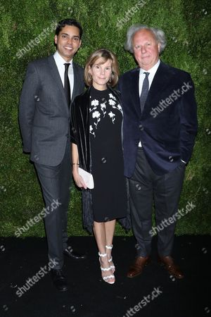 Raj Roy, Anna Scott and Graydon Carter