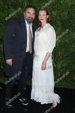 Stock Picture of Todd Komarnicki and Jane Bradbury