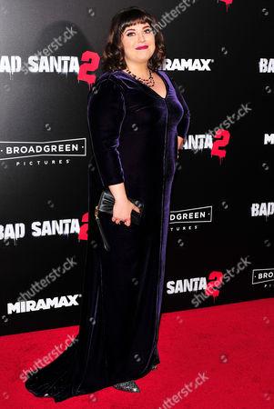 Editorial picture of 'Bad Santa 2' film premiere, Arrivals, New York, USA - 15 Nov 2016