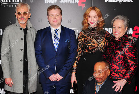 Editorial image of 'Bad Santa 2' film premiere, Arrivals, New York, USA - 15 Nov 2016
