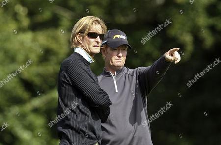 Golf Barclays Scottish Pro Am Loch Lomond Scotland 08/07/2009 Ex Rangers and Scotland footballer Richard Gough