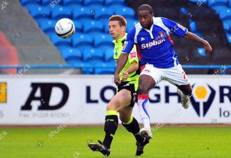 Editorial image of Carling Cup R1 Carlisle United vs Oldham Athletic. - 11 Aug 2009