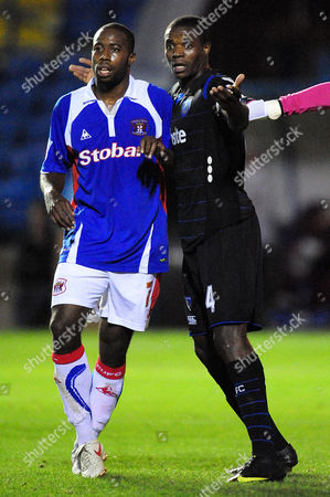 Editorial photo of Carling Cup. Carlisle United vs Portsmouth - 22 Sep 2009