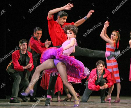 Editorial photo of Ballet and Broadway - West Side Story Suite by New York City Ballet, Coliseum, London, Britain - Mar 2008