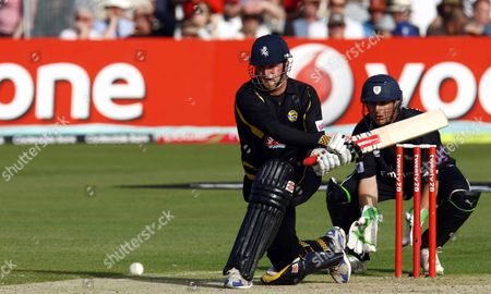 Editorial photo of T20 QF: Kent bt Durham 56r - 27 Jul 2009