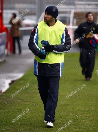 Football Coca-Cola Div 2 Dagenham and Redbridge Vs Crewe Alexandra Carl Martin of Crewe Alexandra 16/01/2010