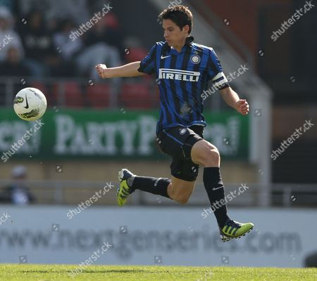 Football - NextGen Series Final - Ajax vs Inter Milan Andrea Romano of Inter Milan