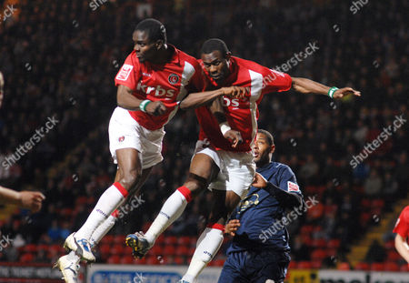Football - Charlton Athletic v Colchester United 13/04/2010 Sam Sodje and Akpo Sodje (right) - (Charlton)