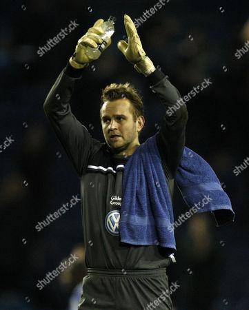 Football - FA Cup Third Round - Sheffield Wednesday vs West Ham United- Sheffield Wednesday hero Nicky Weaver at Hillsborough
