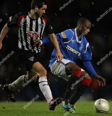 Editorial image of Rangers vs. Dunfermline - 03 Dec 2011