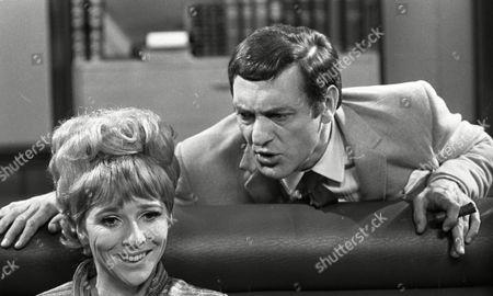 Harry H Corbett (as Jigger Barrett) and Fiona Walker (as Sheila Lunn)