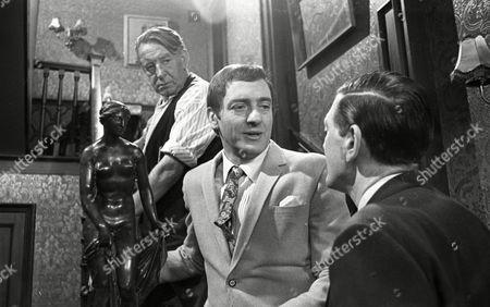 Harry H Corbett (as Jigger Barrett), Richard Butler (as Harry Garbutt) and Wilfred Pickles (as Jontie Barrett)