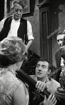 Harry H Corbett (as Jigger Barrett), Doris Hare (as Mary Barrett) and Clare Kelly (as Millie Garbutt) and Wilfred Pickles (as Jontie Barrett)