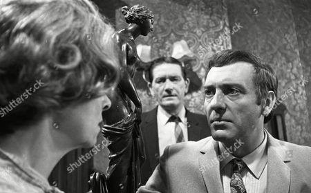 Harry H Corbett (as Jigger Barrett), Richard Butler (as Harry Garbutt) and Clare Kelly (as Millie Garbutt)