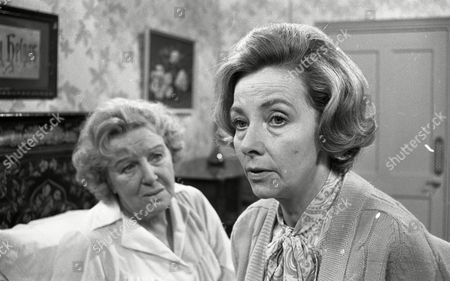 Doris Hare (as Mary Barrett) and Clare Kelly (as Millie Garbutt)