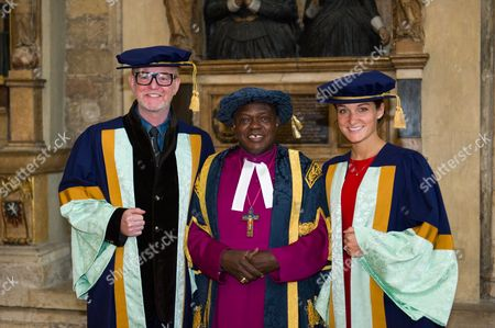 Chris Evans, Dr. Archbishop of York John Sentamu and Lizzie Armitstead