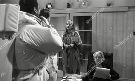 Weston Gavin (as Bill Johnson) and Lon Satton (as Lunar Module Pilot), with Zoe Wanamaker (as Alice) and Madoline Thomas (as Granny)