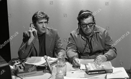 Stock Image of Al Mancini (as Gerry) and David Healy (Voice of Houston)