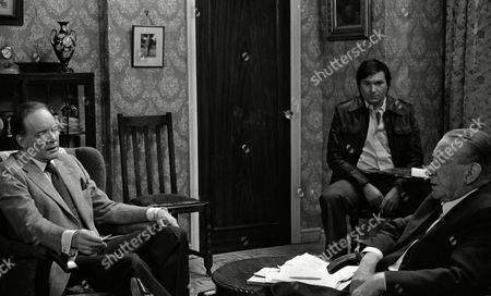 Tony Britton (as Christopher Collinson), Wilfred Pickles (as Bernard King) and Michael Elphick (as Ron Hibbert)