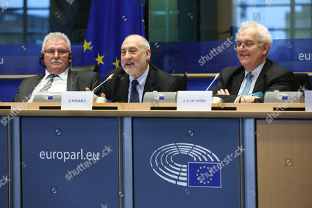 Werner Langen, Joseph Stiglitz, Jose Antonio Ocampo