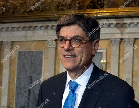 Jack Lew Secretary of the Treasury and Council Chairperson Jack Lew leaves after the Financial Stability Oversight Council at the Treasury Department in Washington