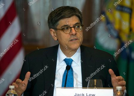 Jack Lew Secretary of the Treasury and Council Chairperson Jack Lew speaks during the Financial Stability Oversight Council at the Treasury Department in Washington