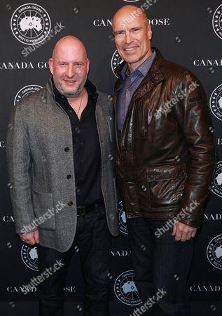 Dani Reiss and Mark Messier