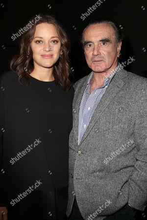 Marion Cotillard and Dan Hedaya