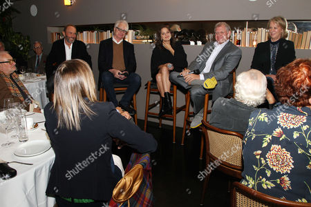 Steve Starkey, Dave Kehr, Marion Cotillard, Robert Zemeckis and Joanna Johnston