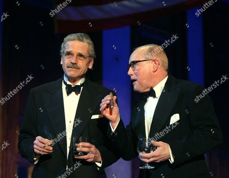 'Never So Good'  - Jeremy Irons (Harold Macmillan) and Clive Francis (Eisenhower)