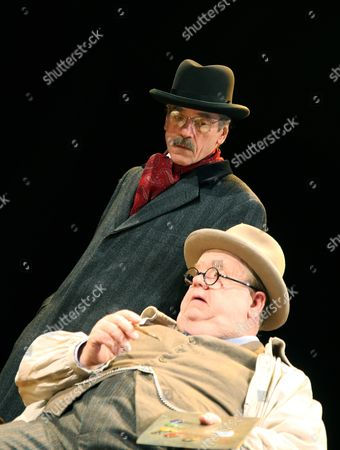 'Never So Good'  - Jeremy Irons (Harold Macmillan) and Ian McNeice (Churchill)