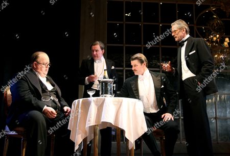 'Never So Good'  - Ian McNeice (Churchill), Robert Glenister (Bob Boothby), Anthony Calf (Eden) and Jeremy Irons (Harold Macmillan)