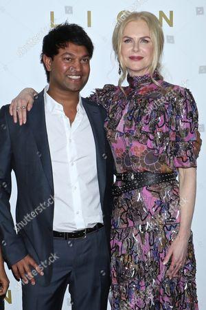 Saroo Brierley and Nicole Kidman