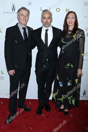 Luke Davies, Screenwriter, Iain Canning, Producer and Angie Fielder, Producer