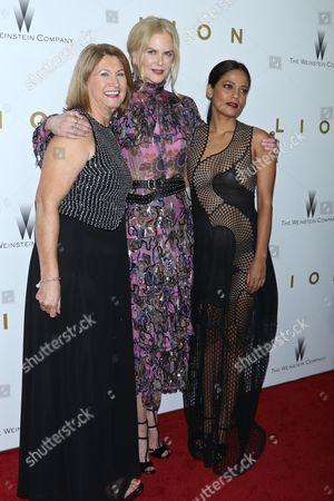 Susan Brierley, Nicole Kidman and Priyanka Bose