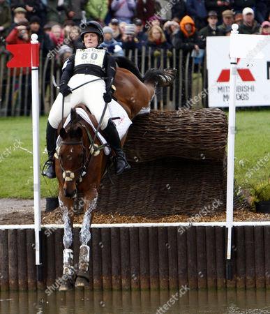 Equestrian - Badminton Horse Trials - Cross Country Rider Elizabeth Power (IRL) on KILPATRICK RIVER at Badminton