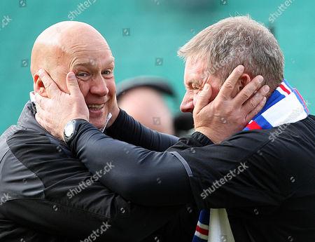 Football - Scottish Premier League - Hibs vs Rangers Rangers Assistant Managers Kenny McDowell & Ally McCoist