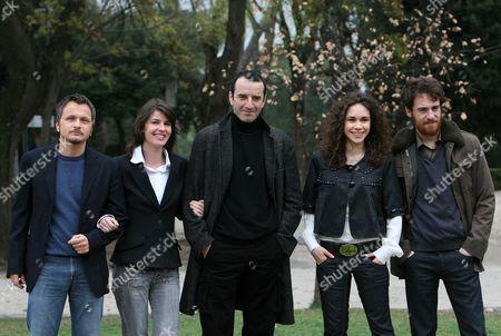 Director Paolo Franchi,  Irene Jacob, Bruno Todeschini, Mimosa Campironi and Elio Germano