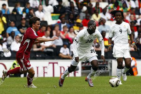 Football - International Friendly - Ghana vs Lativa Quincy Owusu-Abeyie of Ghana at Stadium mk