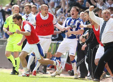 Editorial photo of Kilmarnock vs Falkirk - 08 May 2010
