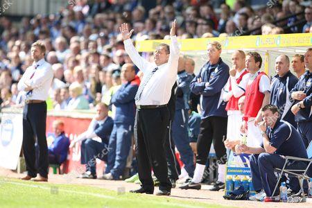 Kilmarnock vs Falkirk Rugby Park Kilmarnock Kilmarnocks's manager Jimmy Calderwood 8th May 2010