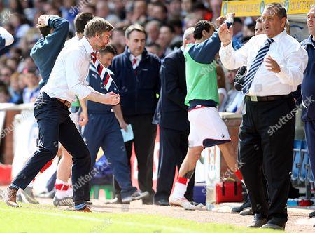 Editorial picture of Kilmarnock vs Falkirk - 08 May 2010