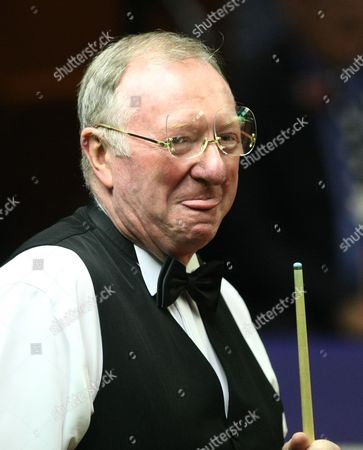 Snooker - The World Championship Dennis Taylor appears in the arena at the Crucible Theatre Sheffield