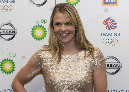 Team GB Ball 2015 - The Royal Opera House London Rower Anna Watkins at the Team GB Ball  United Kingdom London