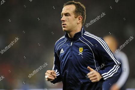 Football - Euro 2012 Qualifying - Scotland vs Spain Charlie Adam (Scotland) at Hampden Park