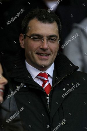 Football - Premier League - Liverpool vs Chelsea Liverpool's director of football strategy Damien Comolli at Anfield