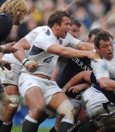 Rugby Union - Six Nations Championships - England vs Scotland Twickenham Paul Doran Jones (England) 13/03/2011