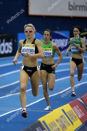 Athletics - AVIVA Grand Prix - Birmingham Jenny Meadows take home an easy win in 800m final at the NIA in Birmingham